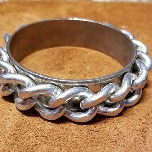 Janna Conner Jewelry - Janna Conner Silver Bangle Bracelet